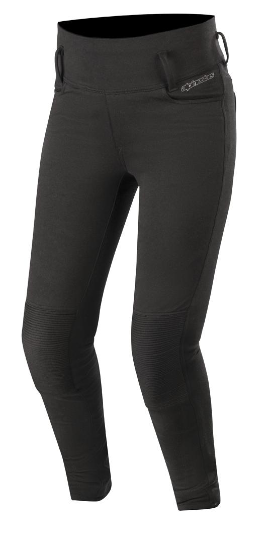 Alpinestars Banshee Damen Motorradleggins, schwarz, Größe XS, schwarz, Größe XS