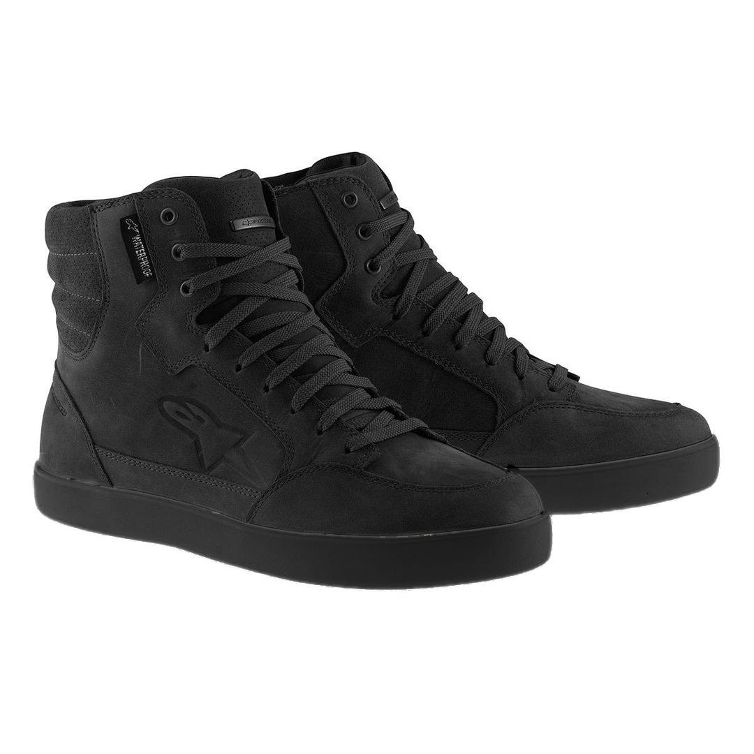 Alpinestars J-6 wasserdichte Schuhe, schwarz, Größe 45 46, schwarz, Größe 45 46