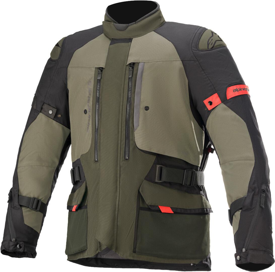 Alpinestars Ketchum Gore-Tex Motorrad Textiljacke, grün, Größe S, grün, Größe S