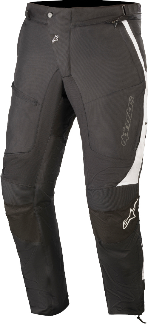 Alpinestars Raider V2 Drystar Motorrad Textilhose, schwarz-weiss, Größe M, schwarz-weiss, Größe M
