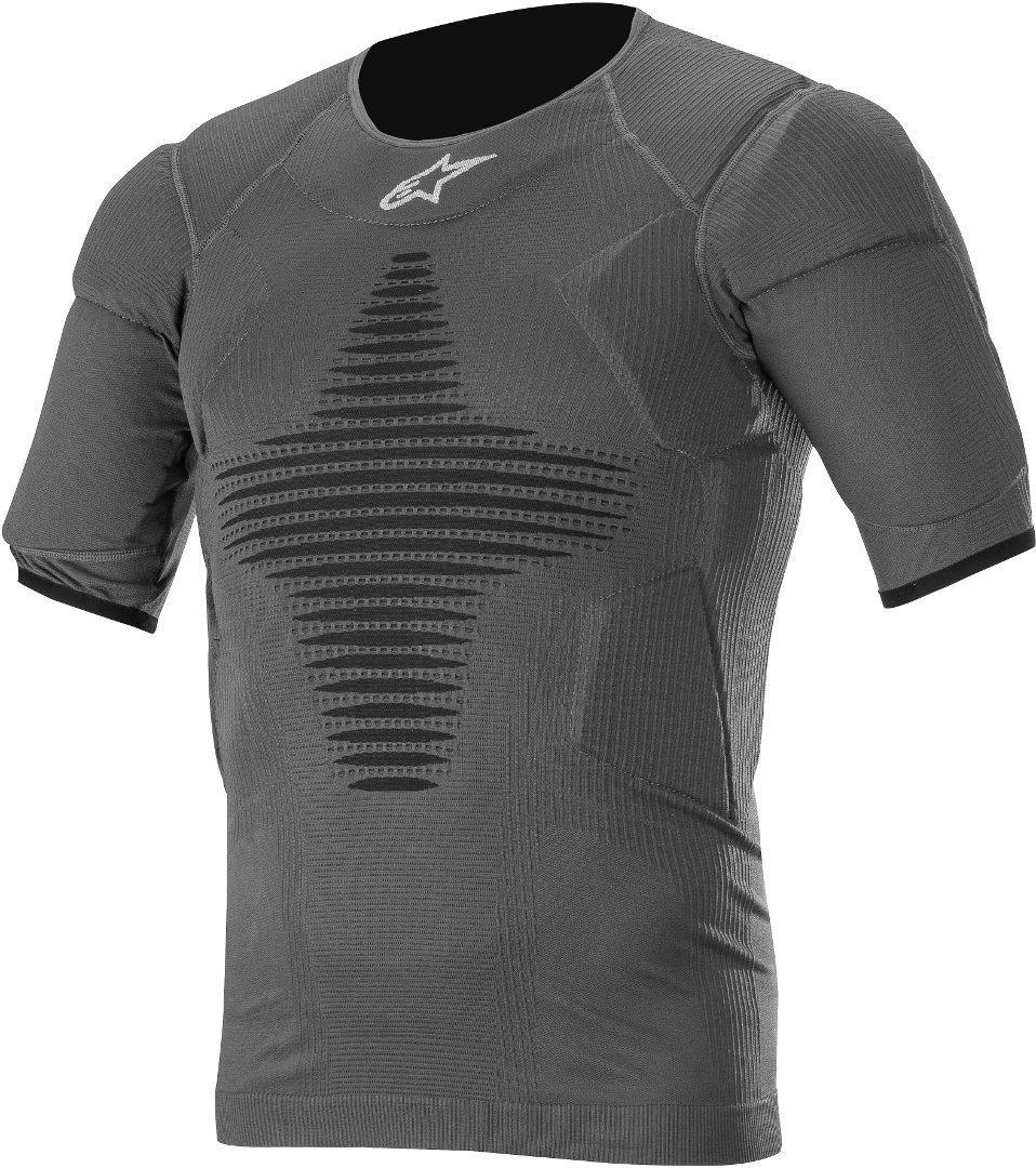Alpinestars Roost Base Protektorenshirt, schwarz, Größe L XL, schwarz, Größe L XL