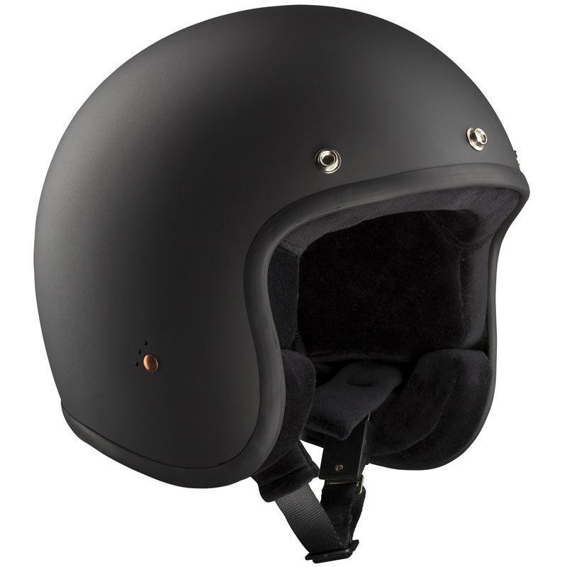 Bandit ECE Jet 2 Schwarz Matt Jethelm, Größe XS, schwarz, Größe XS