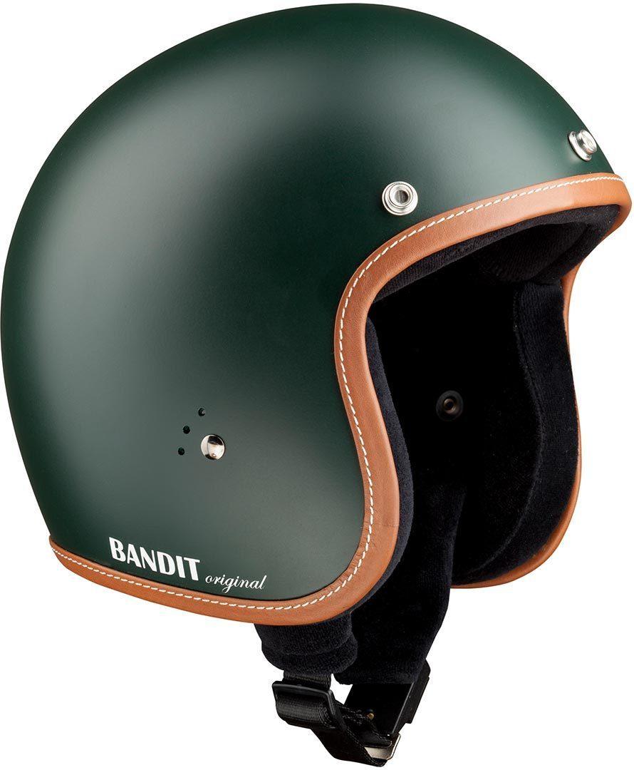 Bandit Jet Premium Line Jethelm, grün, Größe XS, grün, Größe XS