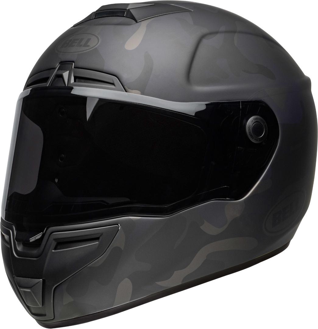 Bell SRT Camo Helm, schwarz, Größe XS, schwarz, Größe XS