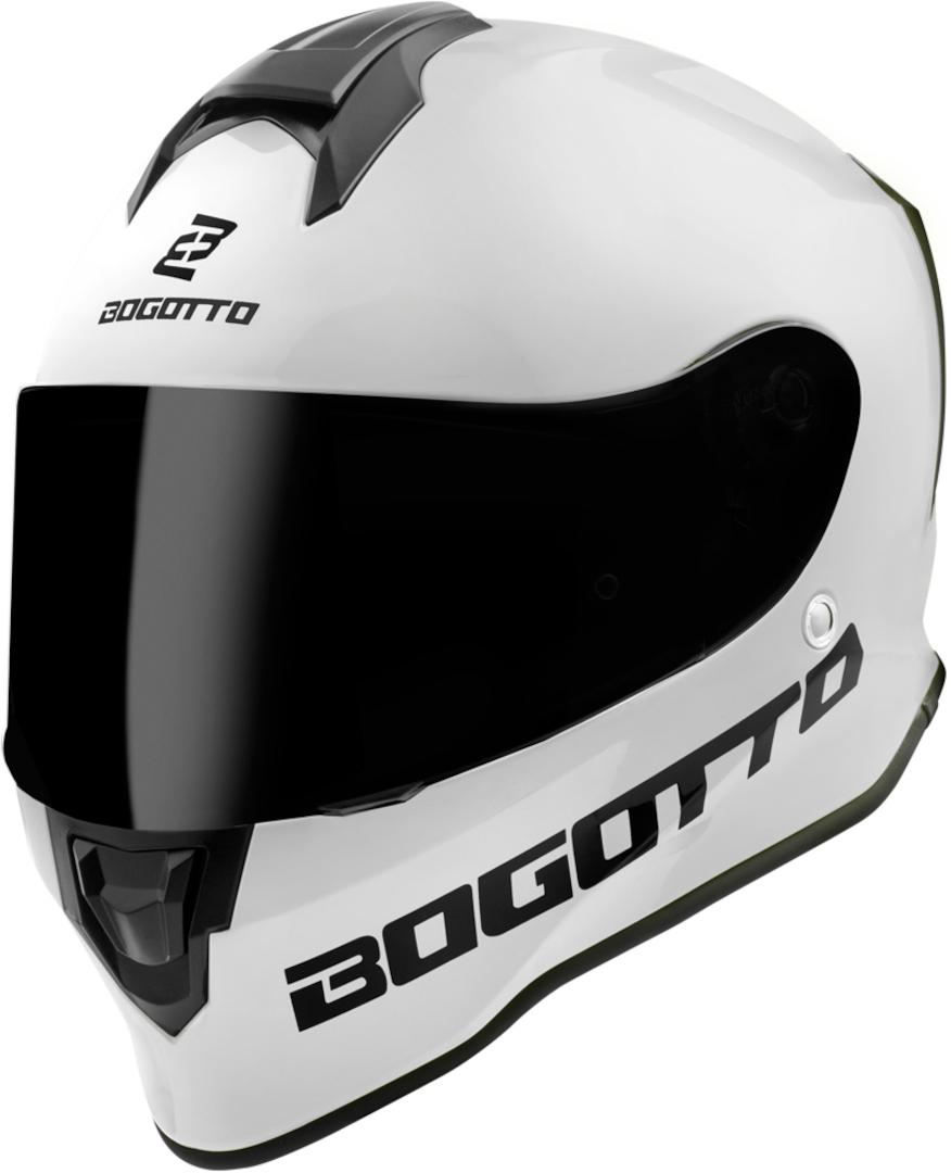 Bogotto V151 SPN Helm, weiss, Größe XS, weiss, Größe XS