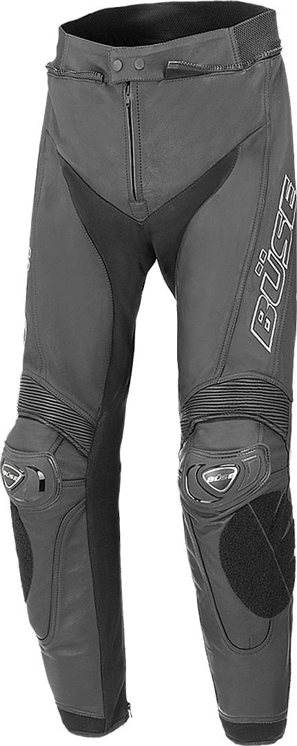 Büse Assen Motorrad Lederhose, schwarz, Größe 104 110, schwarz, Größe 104 110