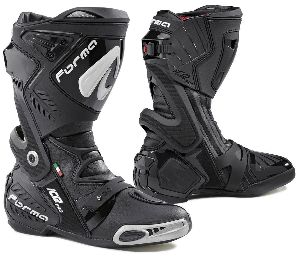 Forma Ice Pro Motorradstiefel, schwarz, Größe 38, schwarz, Größe 38