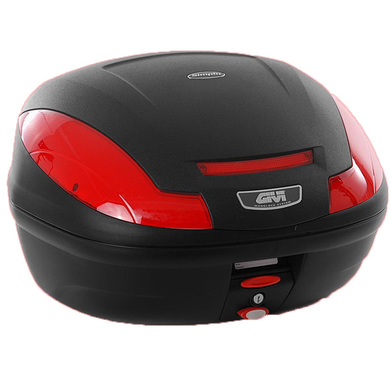 GIVI E470 Simply III Monolock® Koffer Schwarz 41-50l