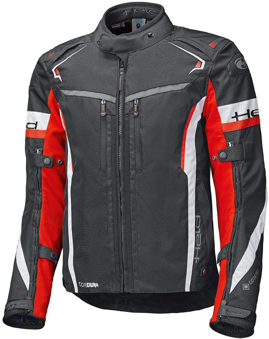 Held Imola ST Motorrad Textiljacke, schwarz-weiss-rot, Größe S, schwarz-weiss-rot, Größe S