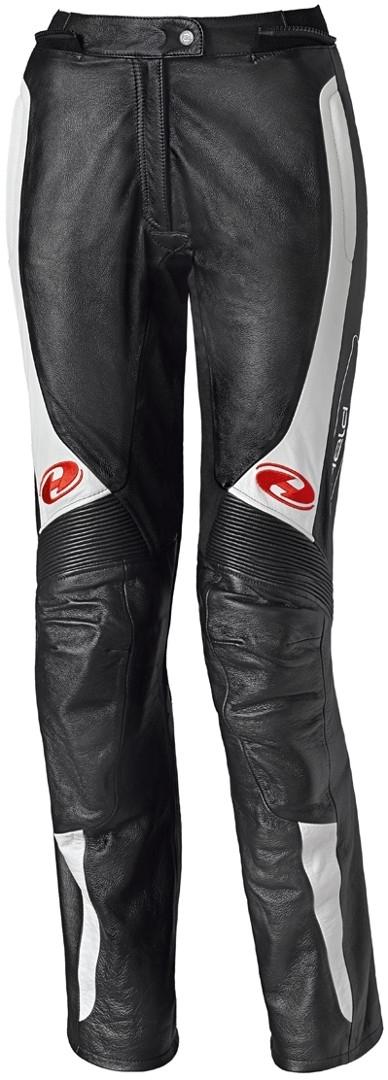 Held Sarana Damen Motorrad Lederhose, schwarz-weiss, Größe 34, schwarz-weiss, Größe 34