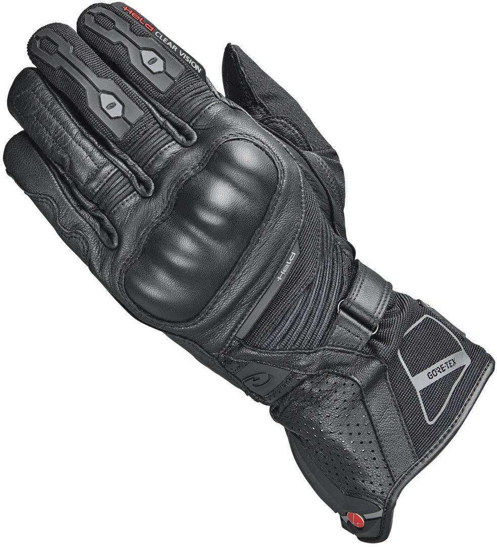 Held Score 4.0 Motorradhandschuhe, schwarz, Größe S M, schwarz, Größe S M