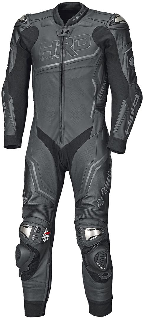 Held Slade II 1-Teiler Motorrad Lederkombi, schwarz, Größe XL 50, schwarz, Größe XL 50