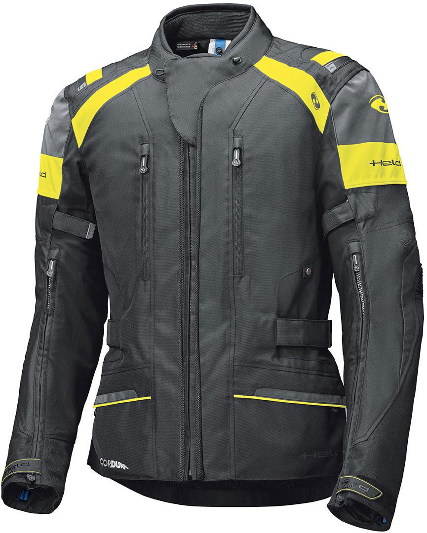 Held Tivola ST Motorrad Textiljacke, schwarz-gelb, Größe S, schwarz-gelb, Größe S