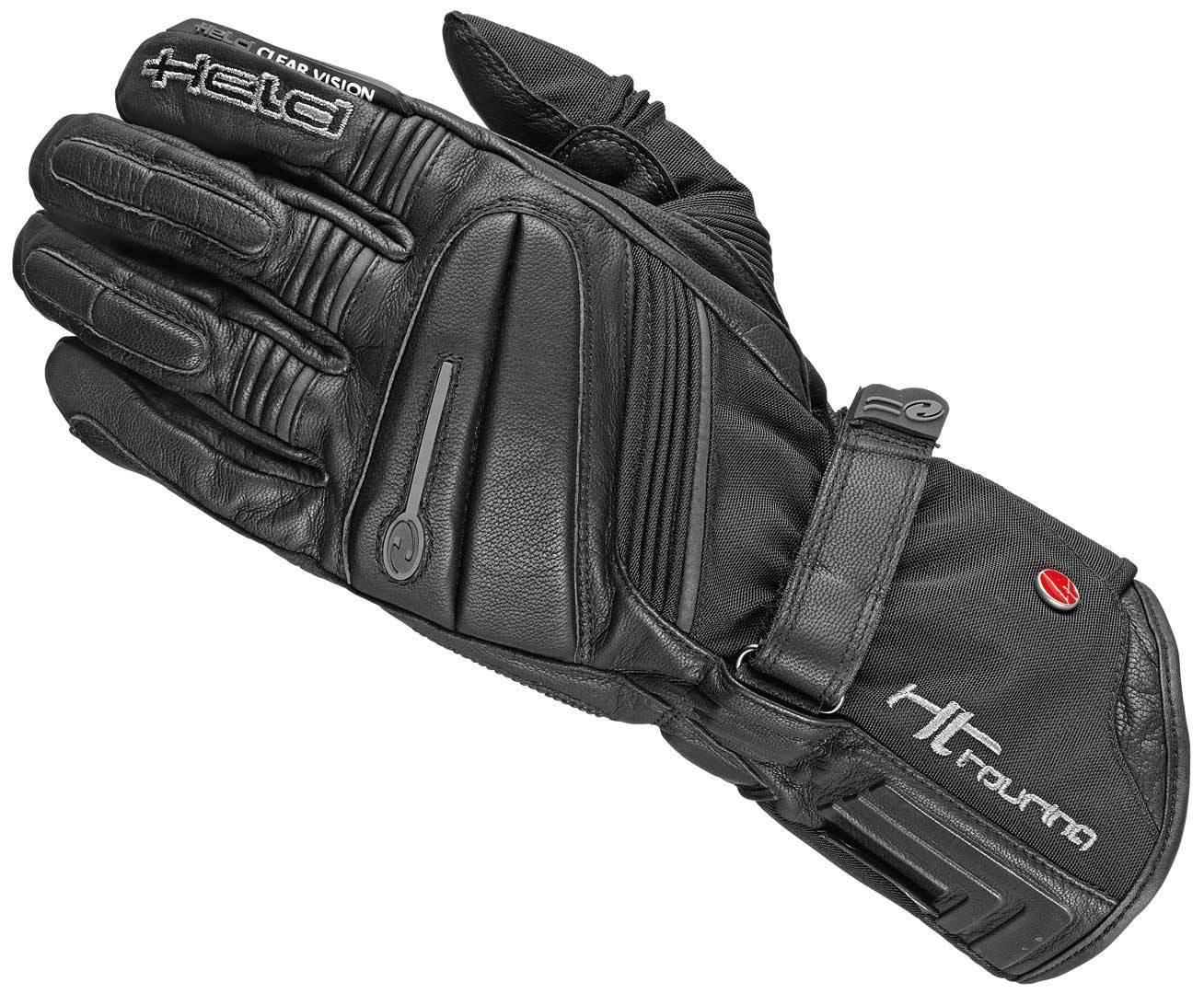 Held Wave Gore-Tex X-Trafit Motorradhandschuhe, schwarz-grau, Größe XS, schwarz-grau, Größe XS