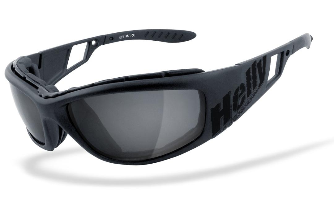 Helly Bikereyes Vision 3 Selbsttönend Sonnenbrille, schwarz, schwarz